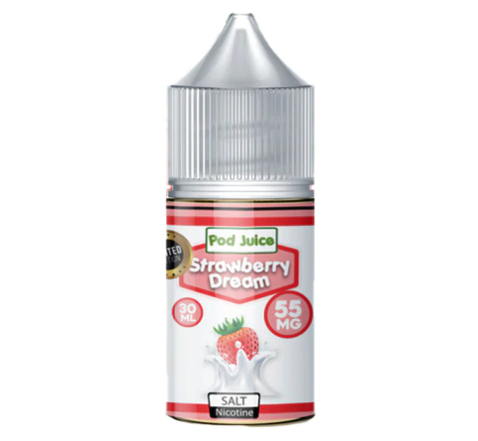 Pod Juice Strawberry Dream Salt
