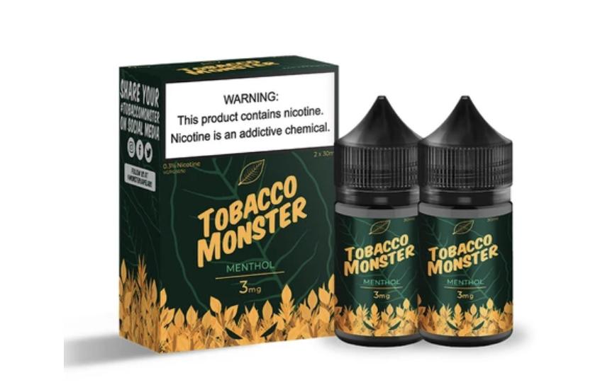 Tobacco Monster menthol salt