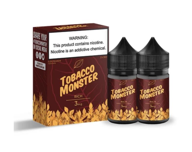 Tobacco Monster Rich salt