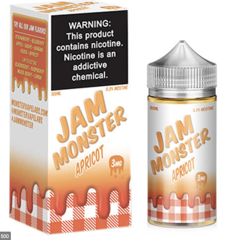 Jam Monster Apricot 100ml
