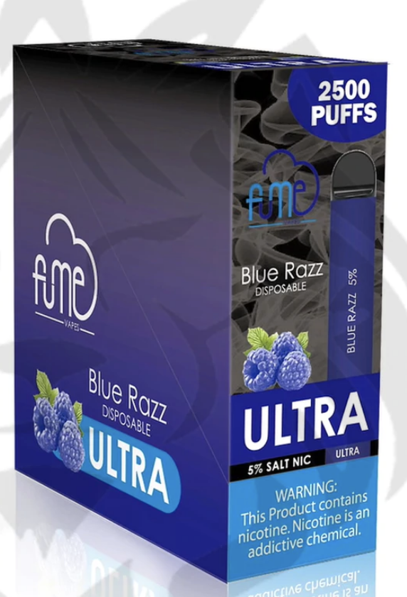 Fume Ultra Disposable 2500 Puffs