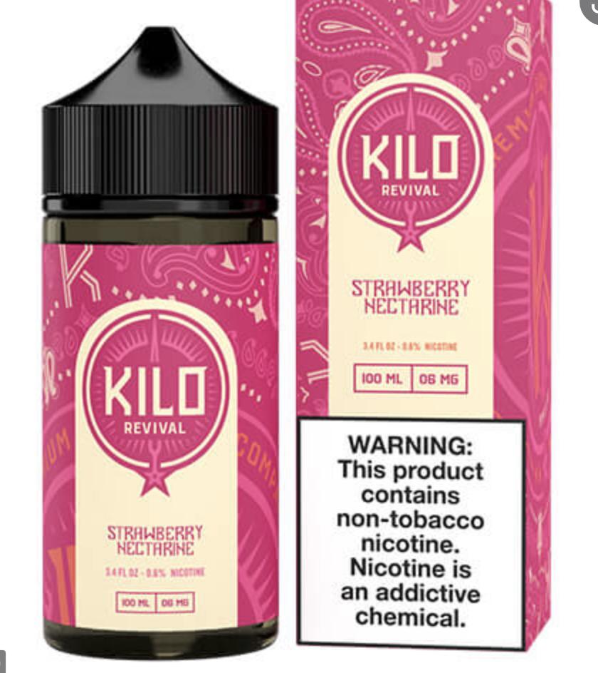 Kilo Strawberry Nectarine 100ml