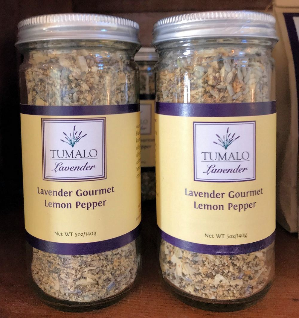Lavender Gourmet Lemon Pepper