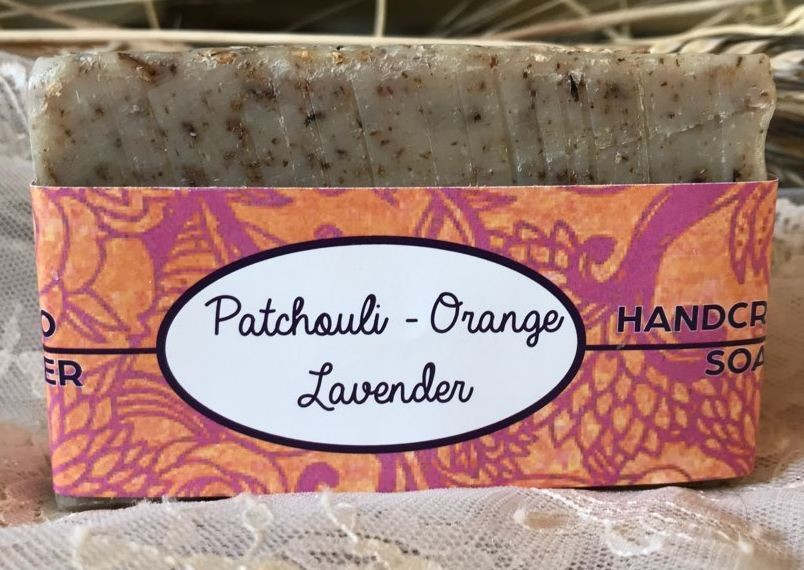 Patchouli-Orange Soap
