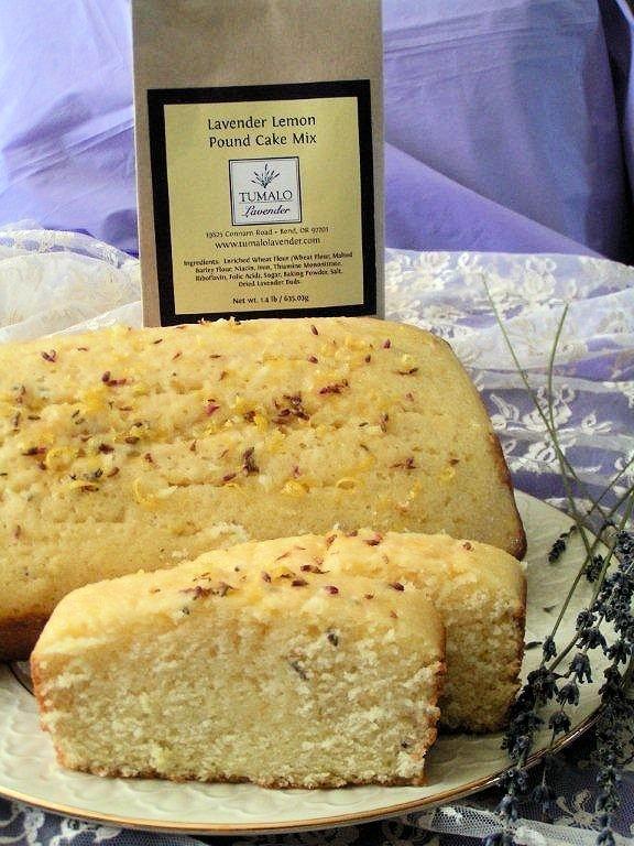 Lavender Lemon Pound Cake Mix
