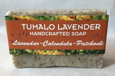 Lavender Calendula Patchouli Soap