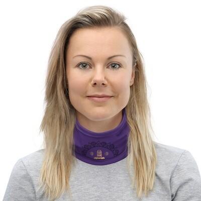 Chakra - Multifunktionstuch Purple