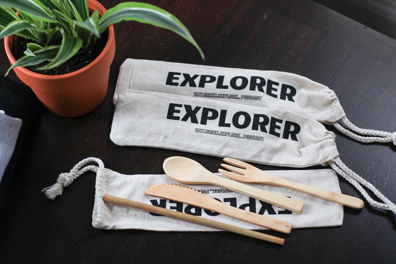 Eco Friendly Travel Cutlery Set