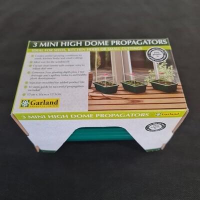Garland 3 Mini High Dome Propagators