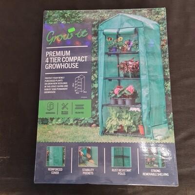 Premium 4 tier growhouse