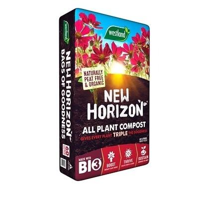 Westland New Horizon All Plant Compost 50L (2 Bags)