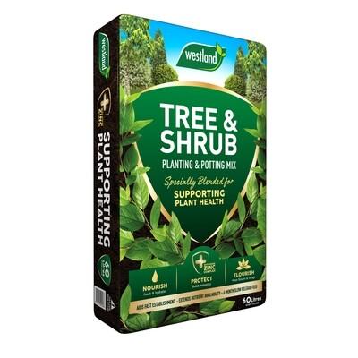 Westland Tree & Shrub Planting & Potting Mix 60L (4 Bags)