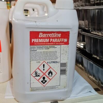 Barrettine Premium Paraffin 4 Litres