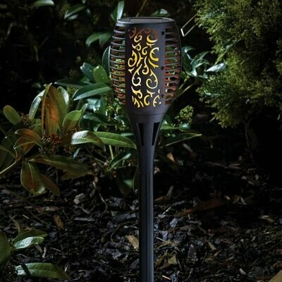 Smart Solar Flaming Torch