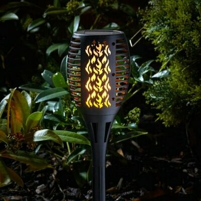 Smart Solar Compact Flaming Torch
