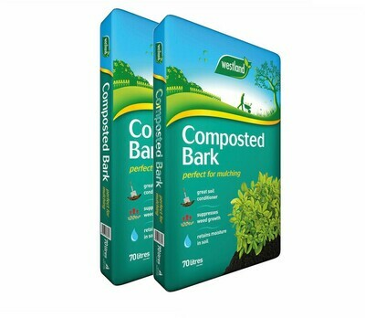 Westland Composted Bark 70L (2 bags)