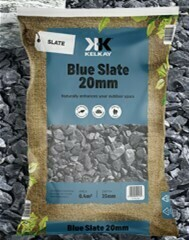 Kelkay Blue Slate 20mm (2 bags)