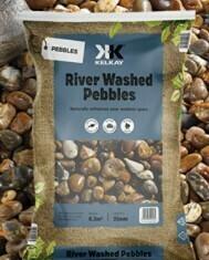 Kelkay River Washed Pebbles (2 bags)