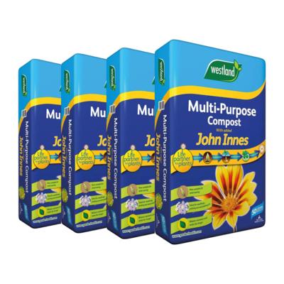 Westland Multipurpose Compost w. John Innes 50L (4 bags)