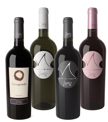 Pack 4 Bottiglie a scelta Vino IGT Calabria