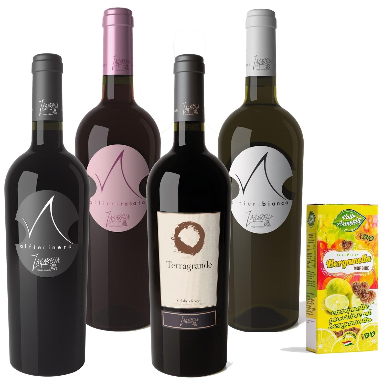 Pack 3 Bottiglie a scelta di Vino IGT Calabria + OMAGGIO