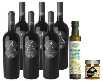 Alfierinero - Confezione 6 Bottiglie Vino rosso IGT Calabria