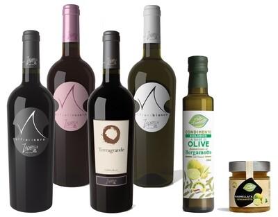 Pack 6 Bottiglie a scelta di Vino IGT Calabria + OMAGGIO