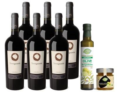 Terragrande - 6 Bottiglie Vino rosso IGT Calabria