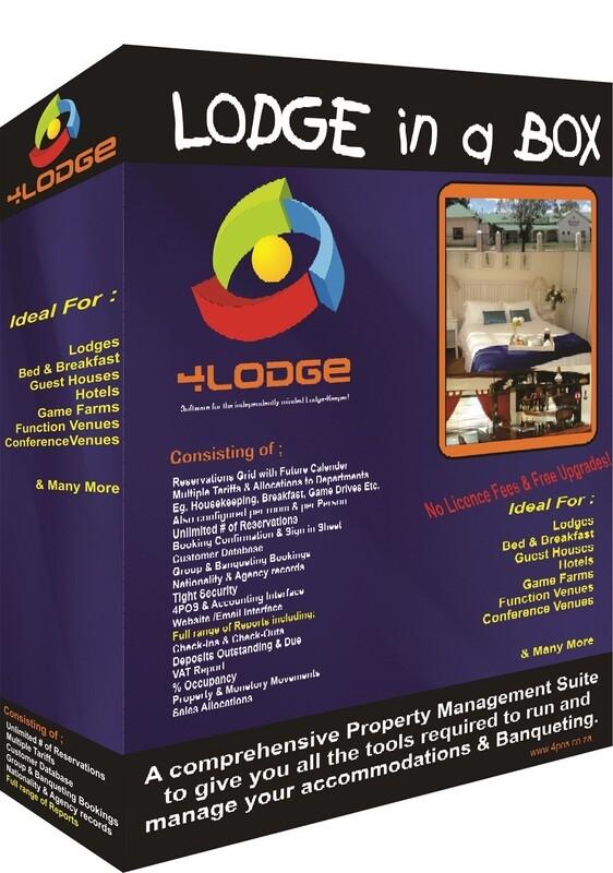 4LODGE Accommodation Software