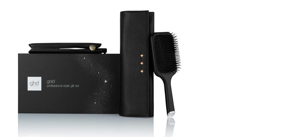 ghd gold® hair straightener gift set