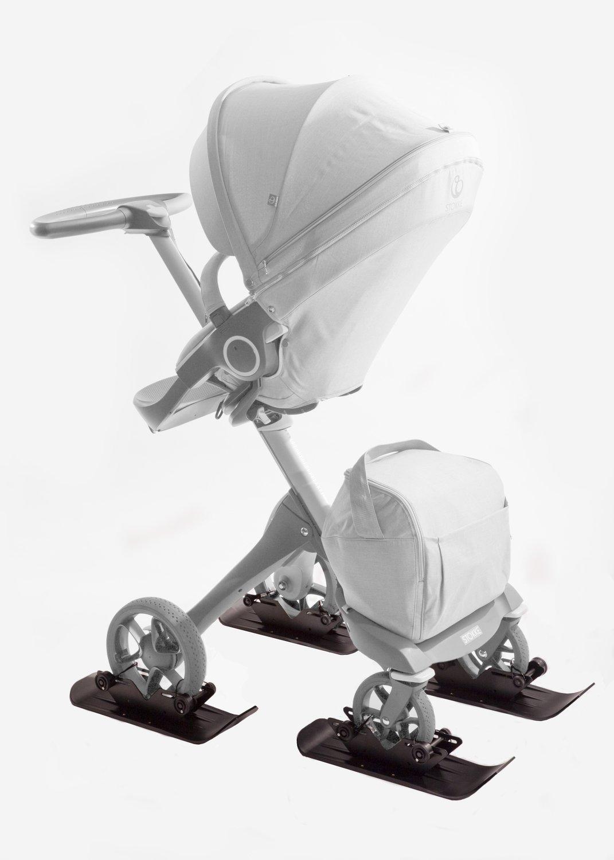 4X4 Polar Stroller Ski Set