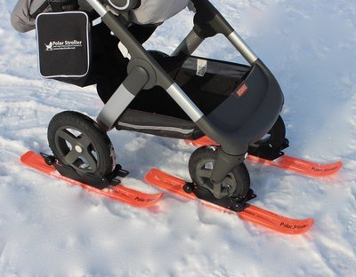 RX4 - 4 Wheel Polar Stroller Ski Set
