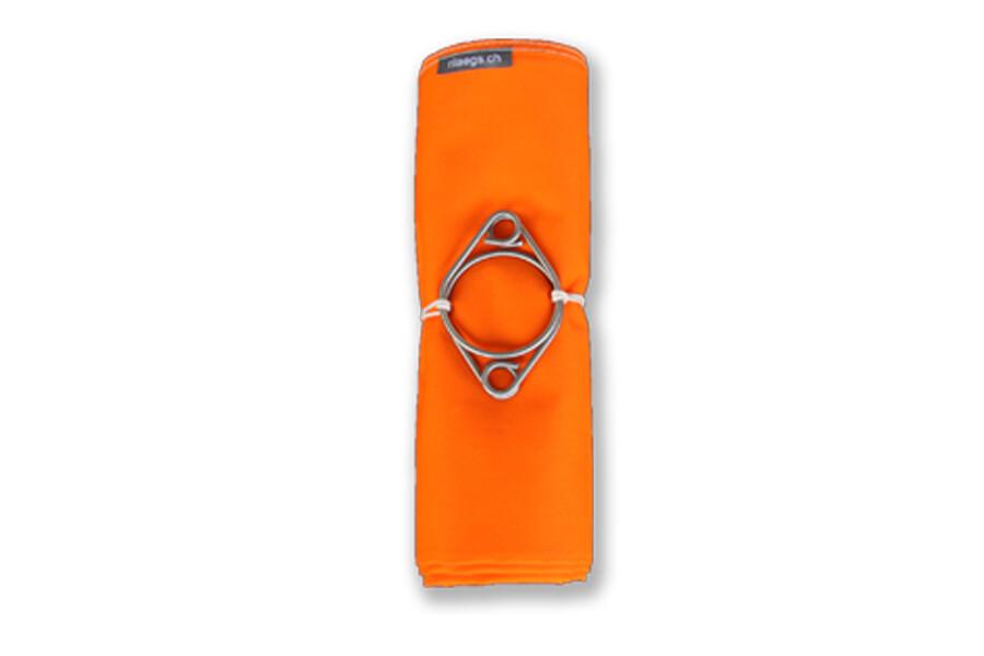 Doppelhängematte 370 x 150 cm, Orange