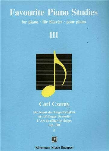 K275. L'ART DE DÉLIER LES DOIGTS. OP.740