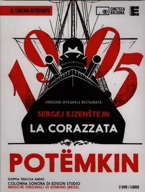 La corazzata Potèmkin. Un film di S. ?jzenstejn. 2 DVD. Con libro