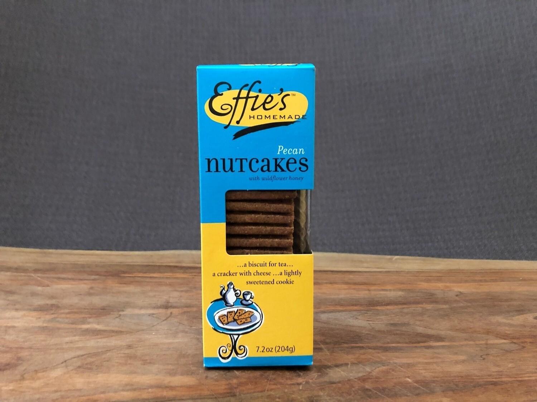 Effie's Pecan Nutcakes