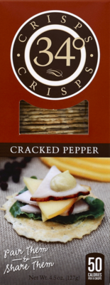 34 Degrees Cracked Pepper Crisps