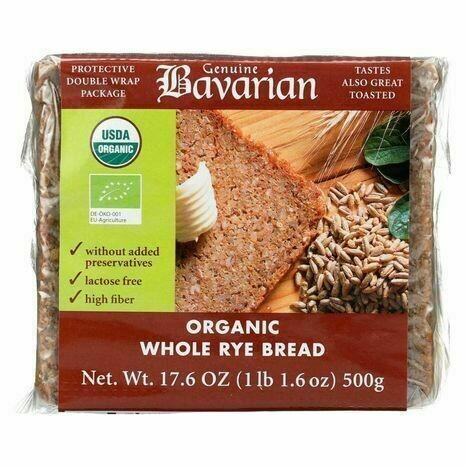 Bavarian Breads - Whole Rye