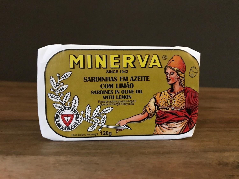 Minerva Sardine Olive Oil Lemon 120g