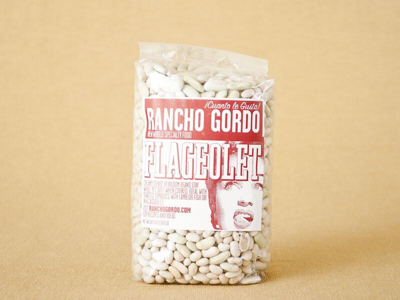 Rancho Gordo Flageolet Beans 16oz