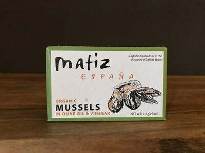 Matiz Mussels in Olive Oil and Vinegar