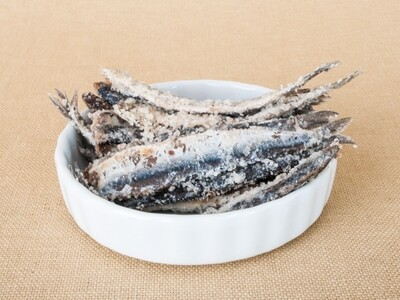 Anchovies in Salt per pound - 1/2 Pound