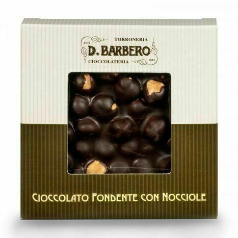 Barbero Dark Hazelnut Bark - 1/2 Pound