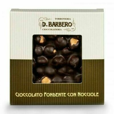 Barbero Dark Hazelnut Bark - 1/2 Pound