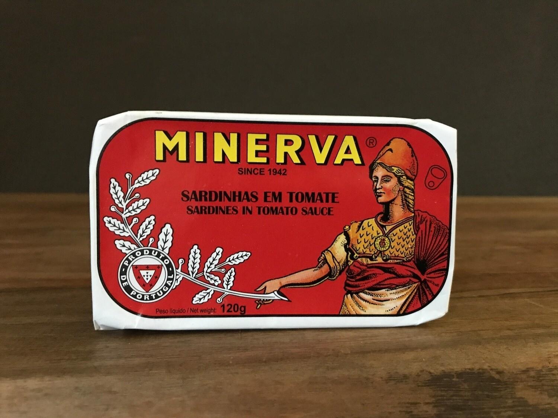 Minerva Sardine Tomato 120g