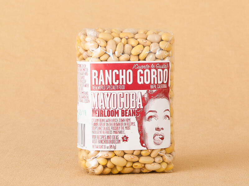 Rancho Gordo Mayacoba Beans 16 oz