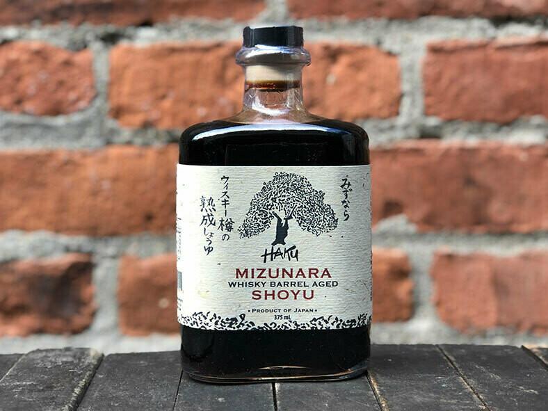 Whiskey Barrel Aged Shoyu375ml