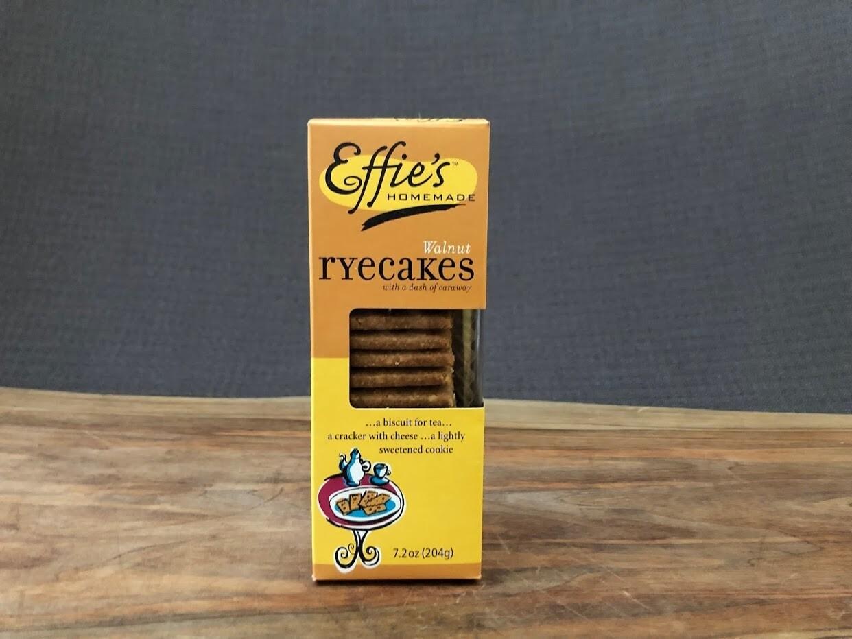 Effie's Rye-Walnutcakes