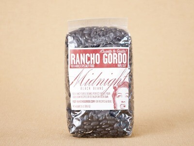 Rancho Gordo Midnight Black Beans