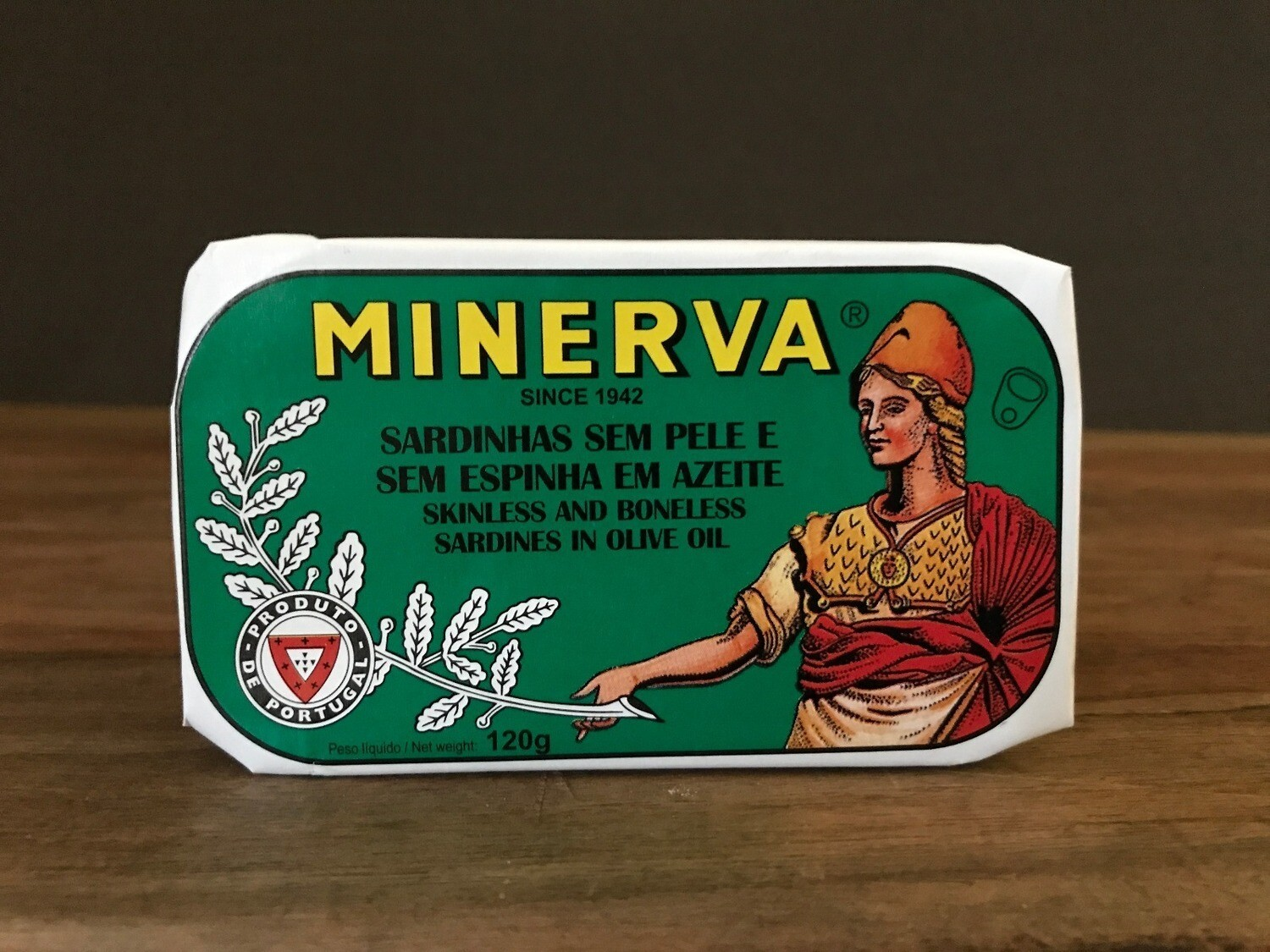 Minerva Sardine Skinless Boneless in Olive Oil 120g
